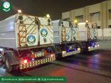 أمانة الرياض: ٤٤ كانسة آلية تنظف الطرقات الرئيسية والفرعية خلال فترة منع التجول