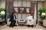سفير باكستان يجتمع بوزير التعليم السعودي