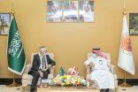 الرئيس التنفيذي لمدينة جازان للصناعات الأساسية والتحويلية يستقبل سفير مملكة الدنمارك لدى المملكة