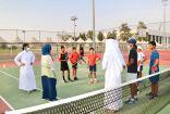 أخضر التنس يبدأ الاعداد لكأس العالم و المطبقاني تحفز اللاعبين في معسكر الطائف