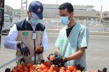 أمانة الشرقية تضبط أكثر من 64 طن طماطم تظهر عليها علامات التلف والفساد قبل توزيعها في سوق الخضار والفواكه المركزي بالدمام