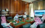 سمو نائب أمير منطقة حائل يطّلع على تقرير المنحنى الوبائي في مركز القيادة والتحكم بالمنطقة ومعدلات التحصين 