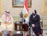 وزير التجارة وزير الإعلام المكلف يصل القاهرة في زيارة رسمية